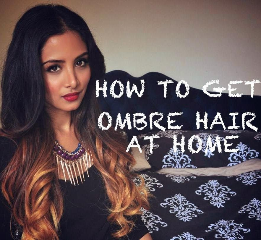 Diy ombr hair tutorial for dark hair hair and makeup diy ombr hair tutorial for dark hair solutioingenieria Images