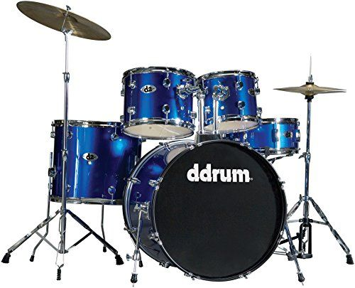 ddrum D2 PB D2 Drum Set 5 Piece Police Blue >>> Learn more by visiting the image link.Note:It is affiliate link to Amazon.