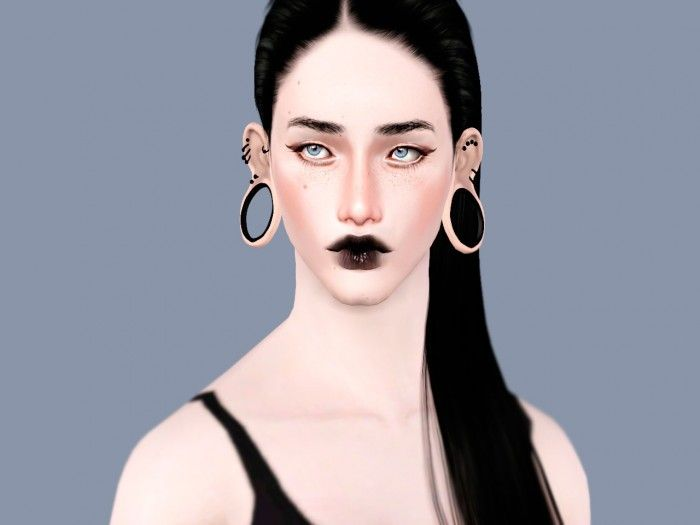 Piercing Plugs And Tunnels For Cheeks Sims 3 Downloads Cc