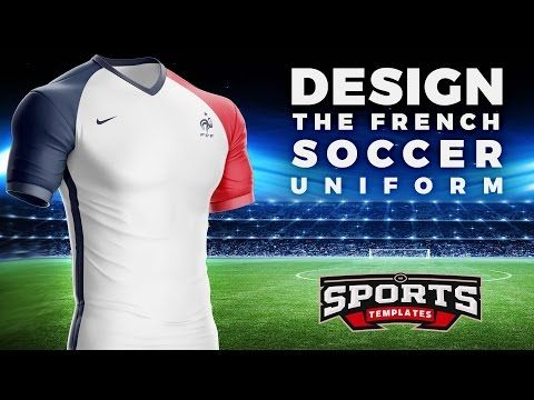 ba3aafe09 Design the French Soccer Kit   Jersey of Euro 2016