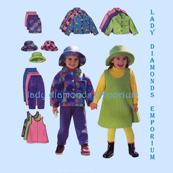 Butterick 5717 Girls Pullover A-line Jumper Dress by ladydiamond46