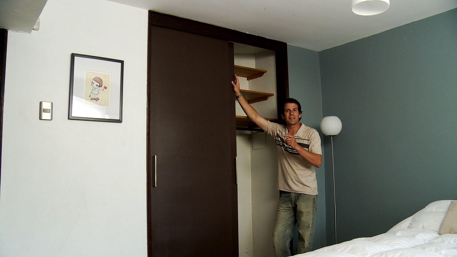 H galo usted mismo c mo hacer una puerta corredera - Hacer puertas correderas ...