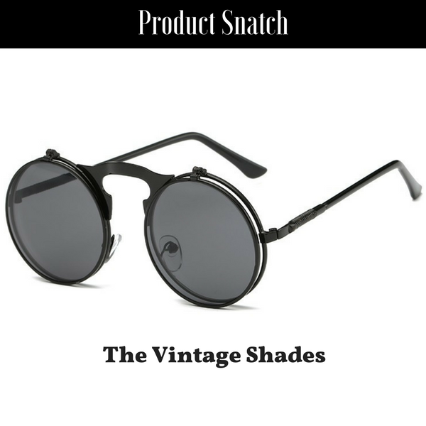 7341f20d5c6 ... Sunglasses by Product Snatch. The Vintage Flip Shades- Black