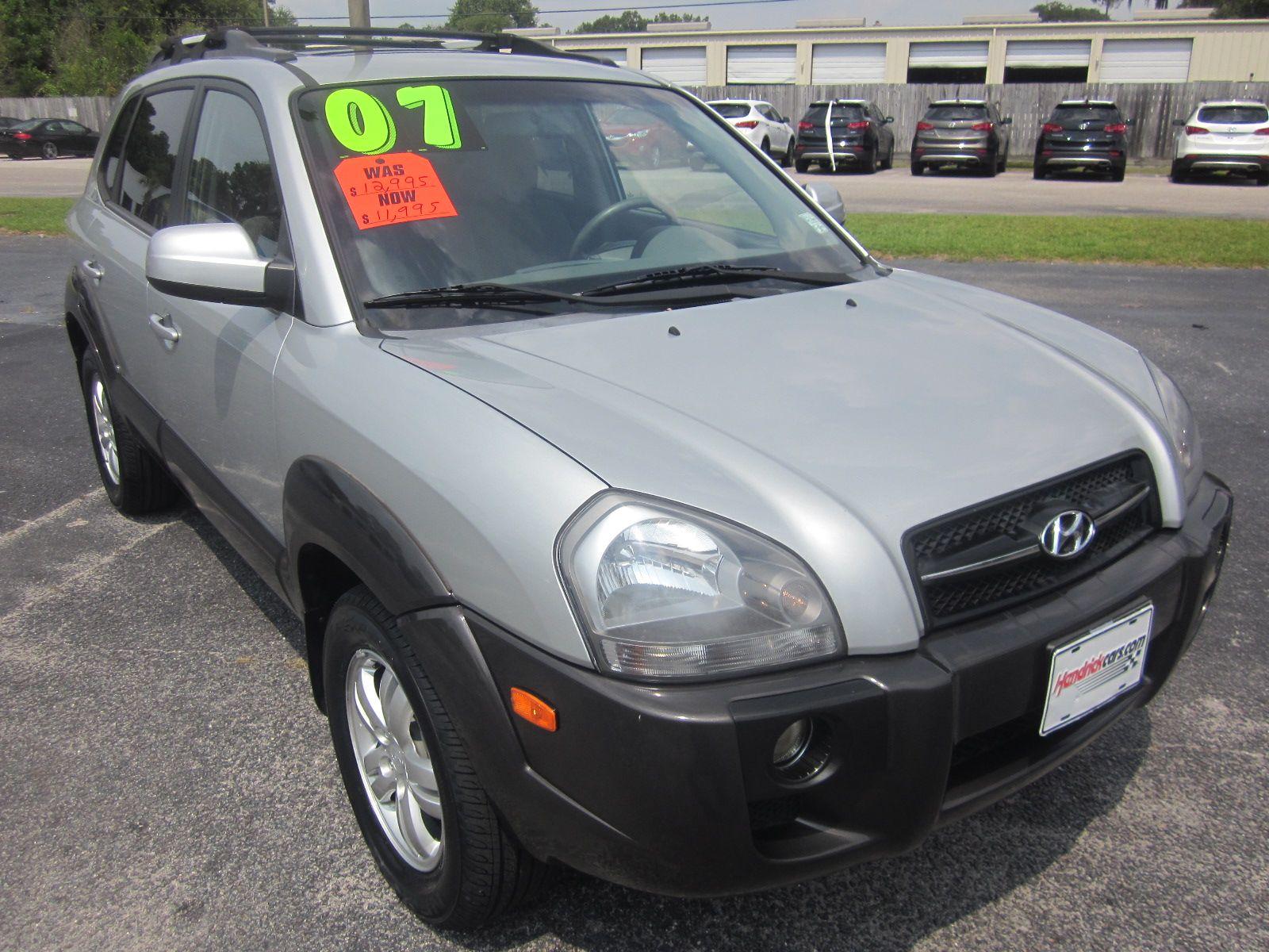 2007 Hyundai Tucson 11,995 Hendrick Hyundai Charleston