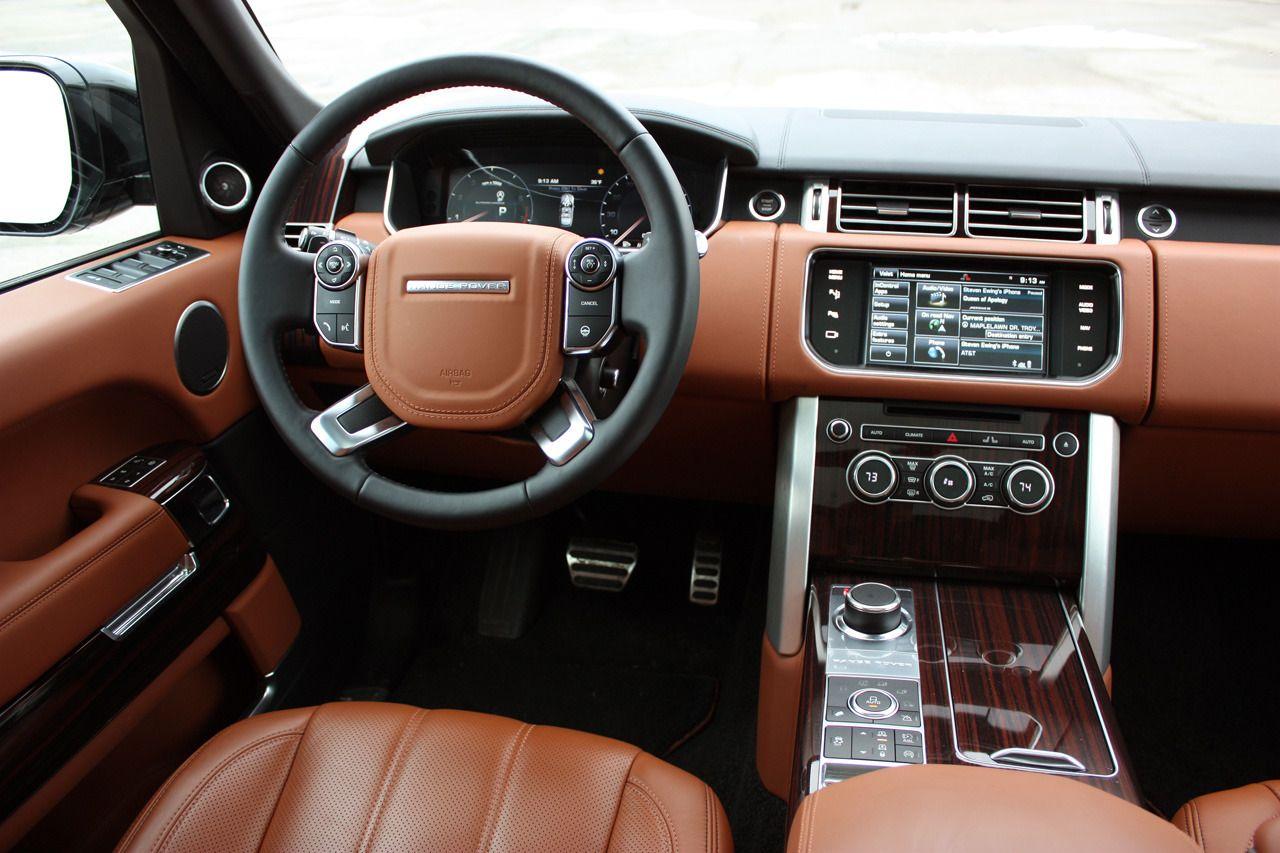 2014 Land Rover Range Rover L Autobiography interior