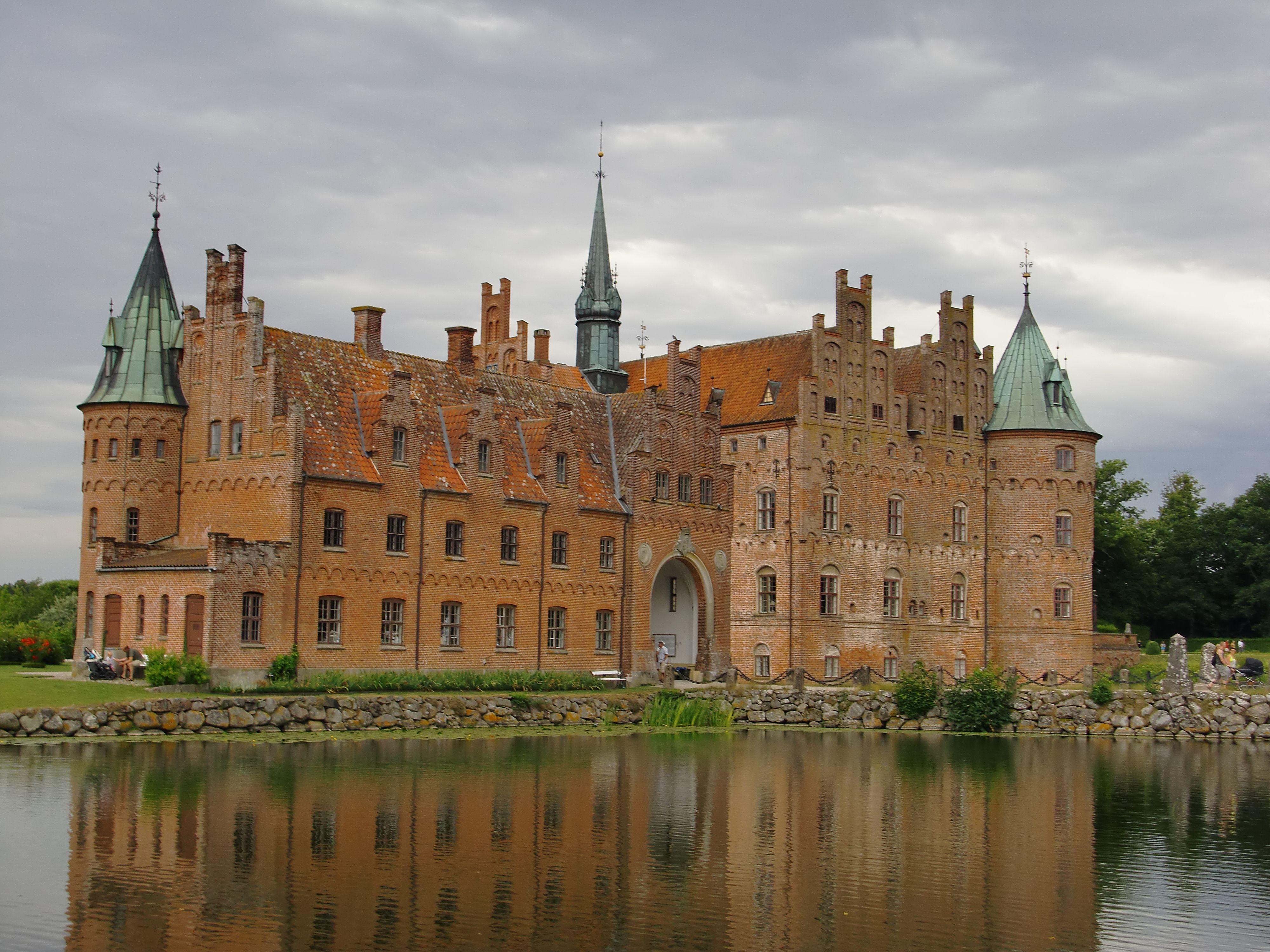 Egeskov Castle in Denmark Castles Pinterest
