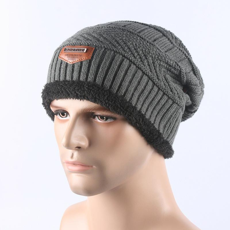 f6d95e01748 Men Skullies Beanies Caps Winter Balaclava Face Mask Hat Scarf Set Neck  Warmer Thicken Warm Cap Casual Knitted Beanie Wool Hats