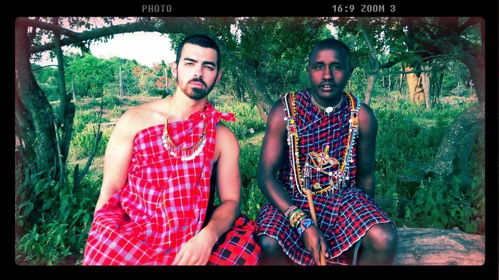 Joe Jonas AFRICA CLOTHING HOTTIE AfricanKing