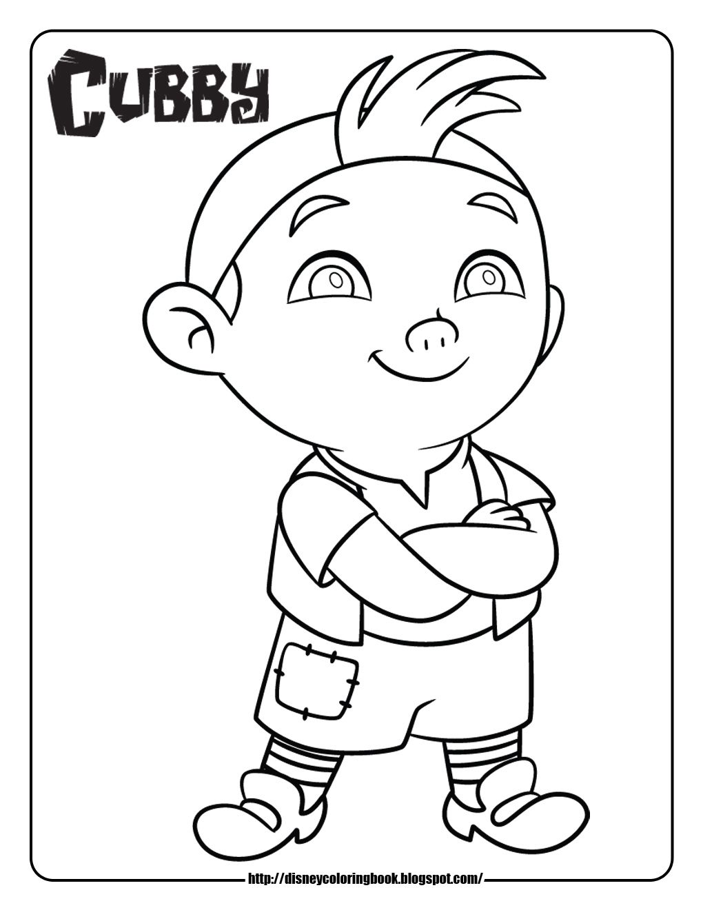 Free disney junior colouring pages - Disney Coloring Pages And Sheets For Kids Jake And The Neverland Pirates 1 Free