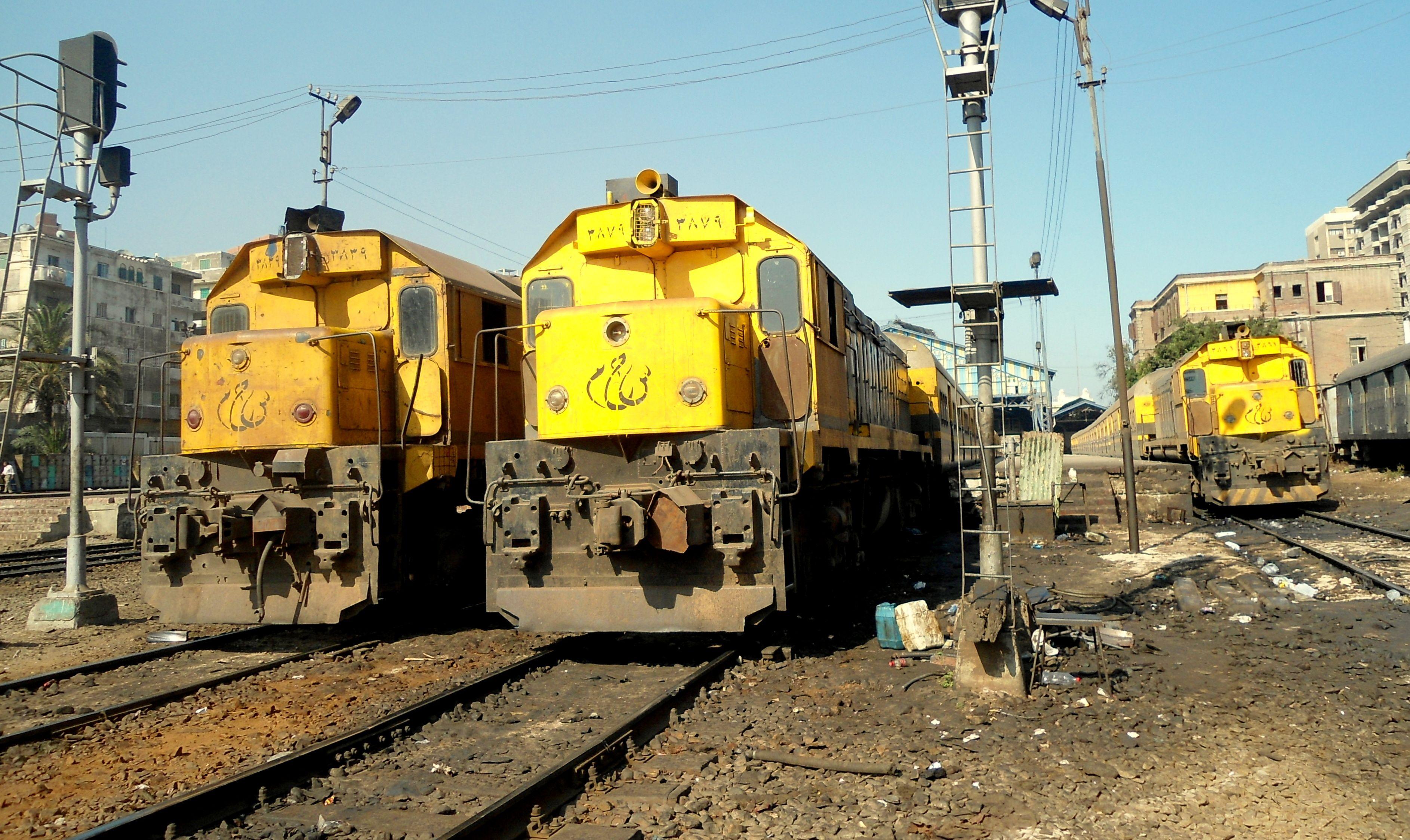 EMD G22WAC - 3839- 3879 AT ALEXANDRIA 2012 BY AMRO SARHAN