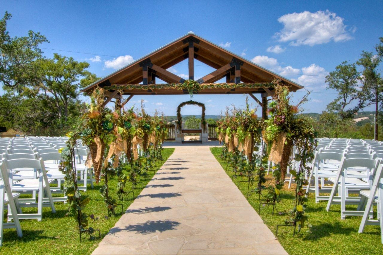Wedding Venue Photos of Hidden Springs Events