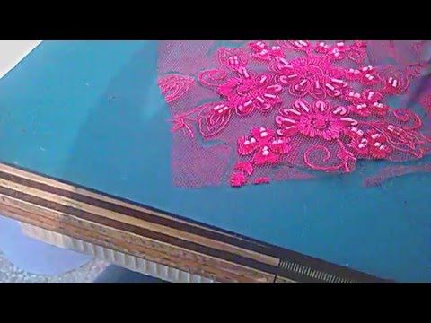 41df03f8a5 Como hacer un cinto para vestido de fiesta paso a paso - YouTube ...