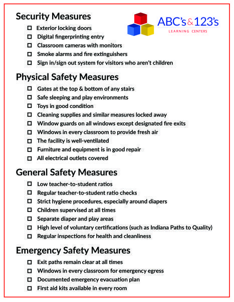 Safety First! Take this with you when visiting potential childcare - best of 8 child care philosophy statement examples