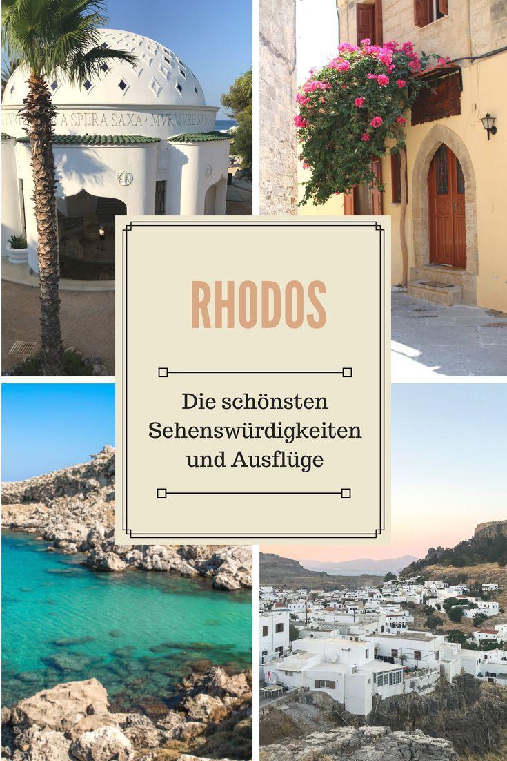 Sehenswürdigkeiten und Ausflüge auf Rhodos #traveltogreece
