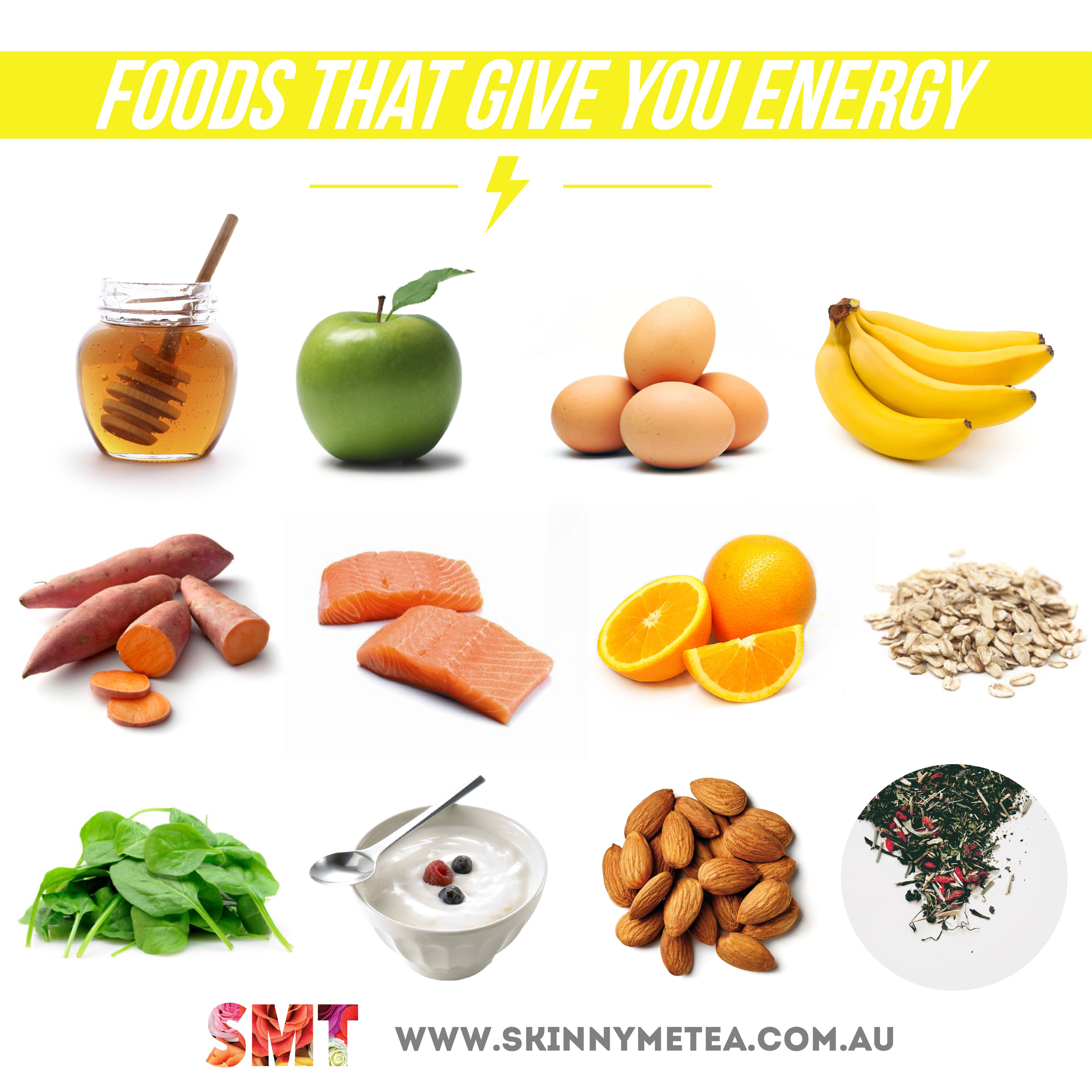 Foods That Give Energy