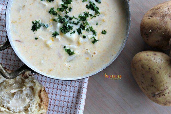 Vegetarian Potato Soup