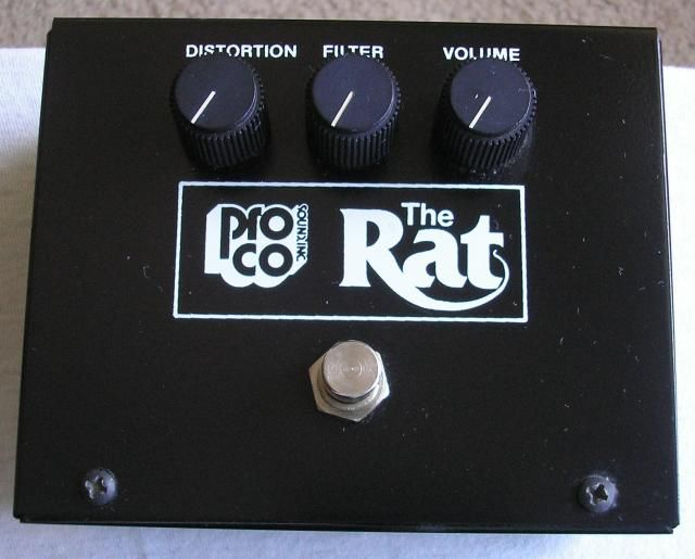 Proco Big Box Rat V2 1981 1983 Reverb Original Box The Originals Simple Circuit