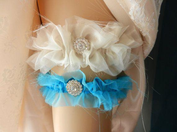 Wedding Garter Belt, Bridal Garter Set, Garter, Blue Garter, Wedding Garter, Bridal Garter, Garter Set, Blue, Keepsake Garter,Elastic Garter