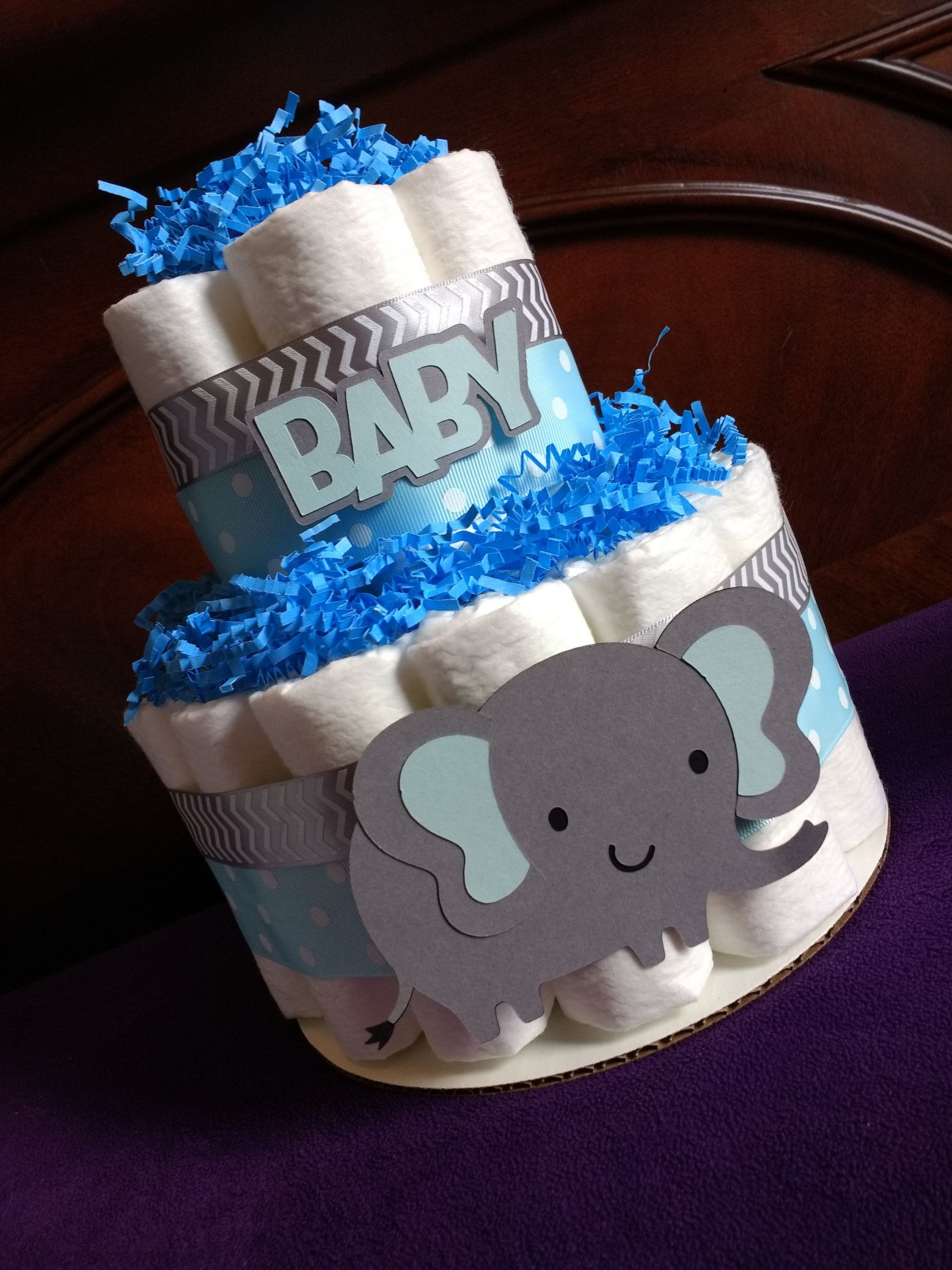 """It/'s A Girl Baby Shower Jungle Centerpiece with Tissue Honeycomb Decor 10/"""" tall"""