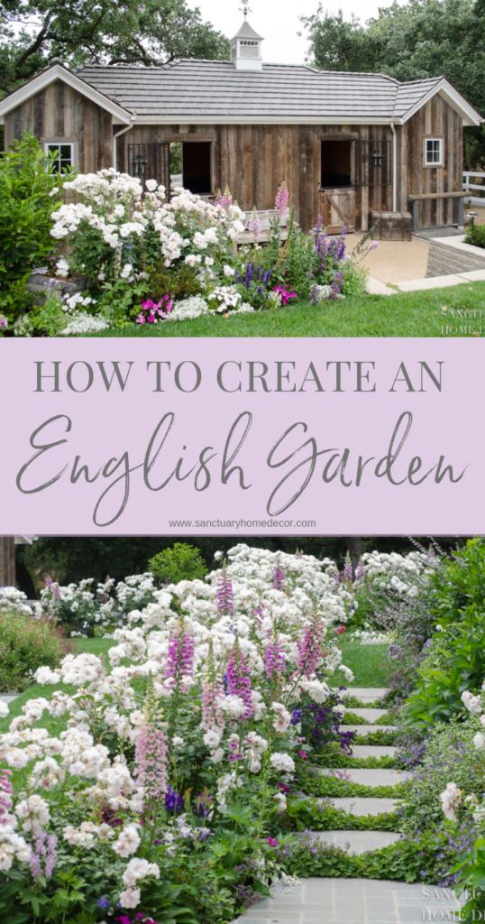 Photo of Wie erstelle ich einen romantischen englischen Garten – Sanctuary Home Decor  – …,  #Décor …