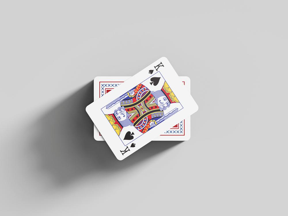 Free Playing Cards Mockup Mockups Design Mockup Design Playing Cards Mockup
