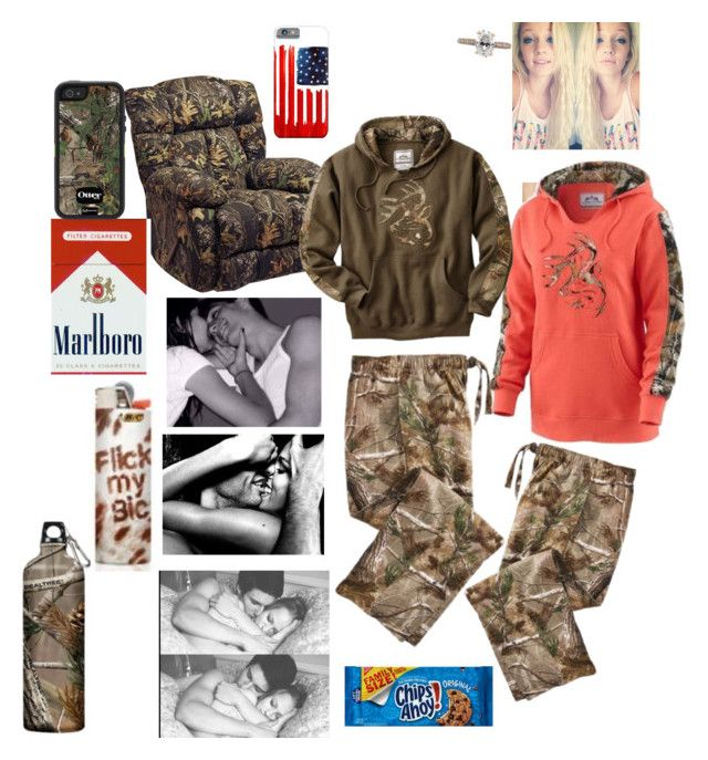 """Days in with bae"" by amber-gabelt on Polyvore featuring Catnapper, Realtree and Mark Broumand"