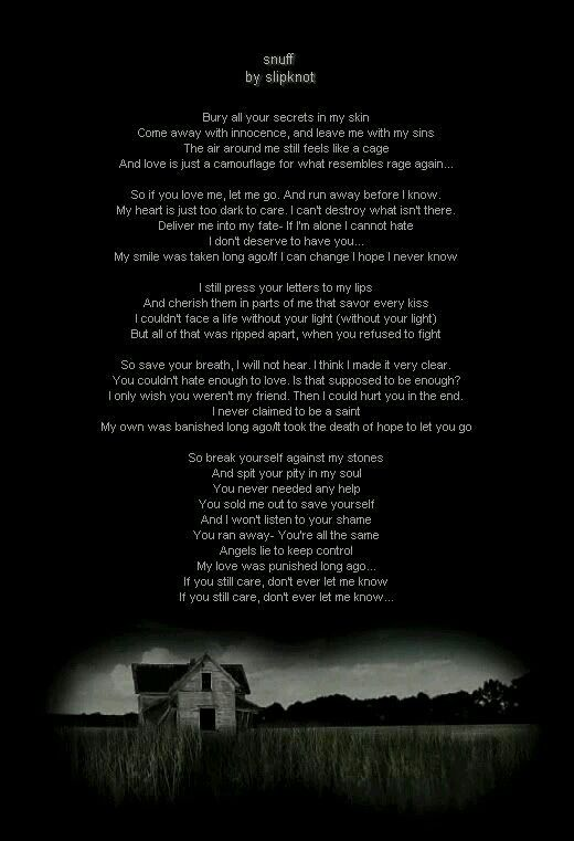 Slipknot   All About Music Lyrics and Quotes   Slipknot