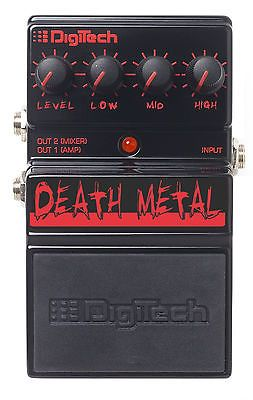 DigiTech Death Metal Guitar Effect Pedal (Analog Metal Distortion)
