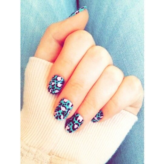 Love these nails ♡ #nails #cute