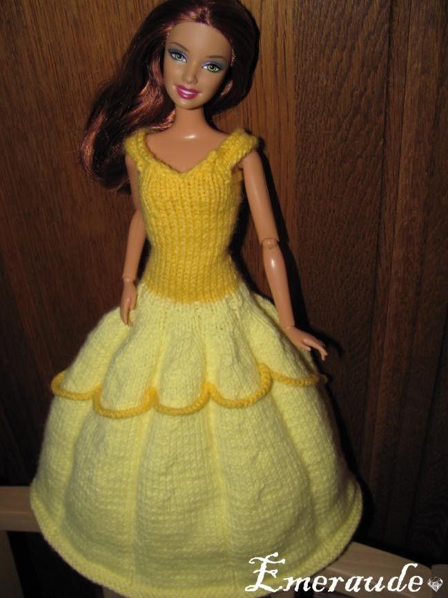 Épinglé par Llitastar sur Princesa Bella | Robe princesse, Robe barbie, Tricot