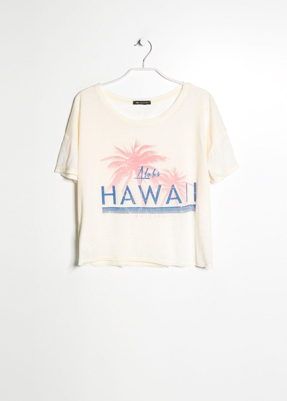 Maglietta stampa spiaggia