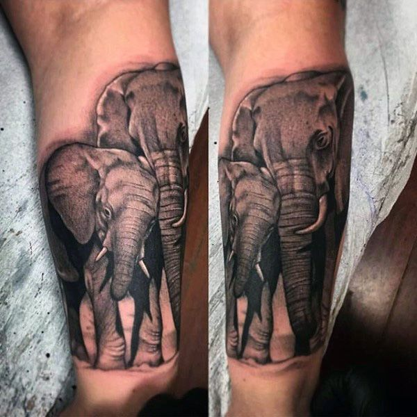 Elephant Mandala Tattoo Tattoos T Tatuajes Elefantes Y: 100 Elephant Tattoo Designs For Men - Think Big