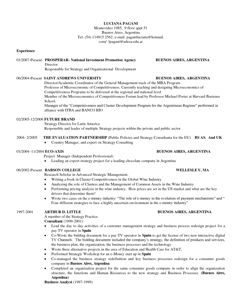 sample resumes and cover letter