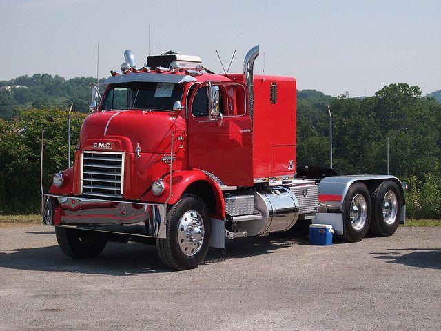 1950 Gmc Bull Nose With Images Trucks Big Trucks Semi Trucks