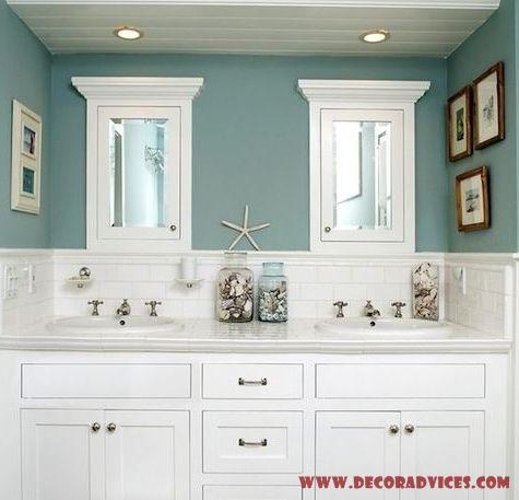 Elegant Beach Bathroom Decor House Bathroom
