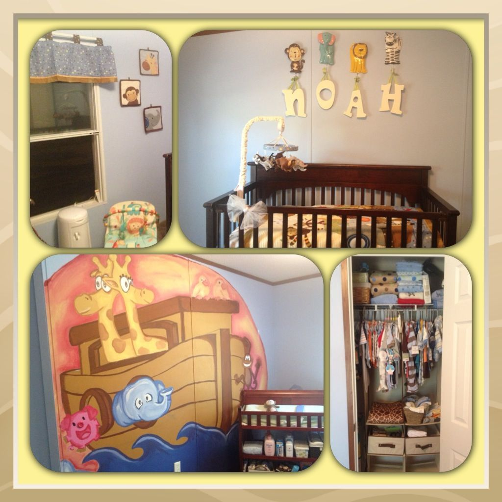 Noah' Ark Nursery Theme Baby Boy Nurseries