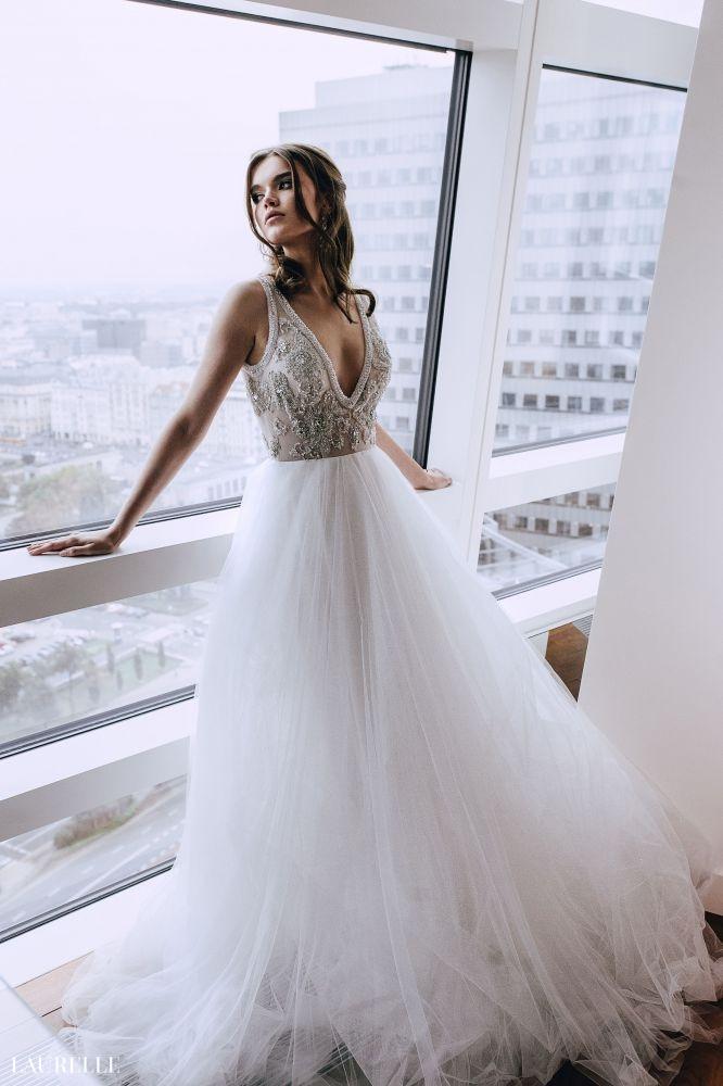 Sasha Suknie Slubne Laurelle Suknie Slubne I Wieczorowe Wedding Dresses Sleeveless Wedding Dress Dresses