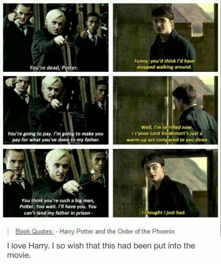 Sassy Harry How I Love Thee Harry Potter Pinterest Harry