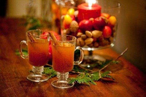 Hot Spiced Cider - Aunt Peggy