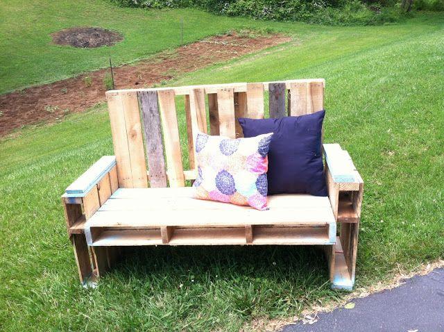 Pallet Chair Tutorial | Salon de jardin palettes, Fauteuil ...