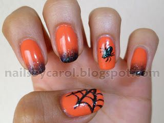 Nails by Carol HALOWEEN #nail #nails #nailart