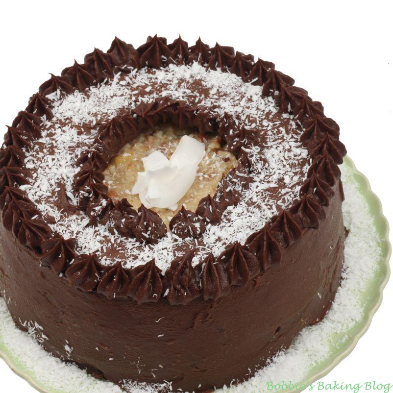German Chocolate Cake CHOCOLATE DESSERT RECIPES Pinterest