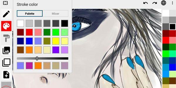 Cinco Aplicaciones De Dibujo Vectorial Para Utilizar En Sistemas Android Graphic Design Photoshop 3d Drawings 3d Drawing App