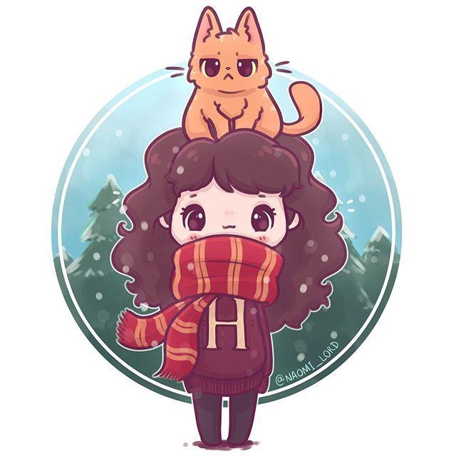 ️ Winter Hermione Granger ️