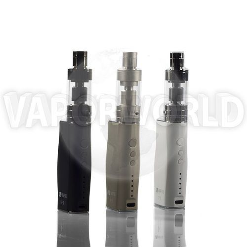 Vaptio P1 50W Kit   Simple operation - 5 indictor lights to show the battery energy,5 levels for wattage adjustment 10W-20W-30W-40W-50W, and can support minimum 0.1ohm sub-ohm Tank.