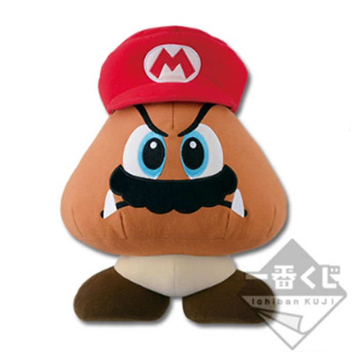 d51966a5b19 You will get one Official Large Goomba Wearing Mario Hat Plush Doll.  Material  Polyester. Very cute and high quality. Item location  China.
