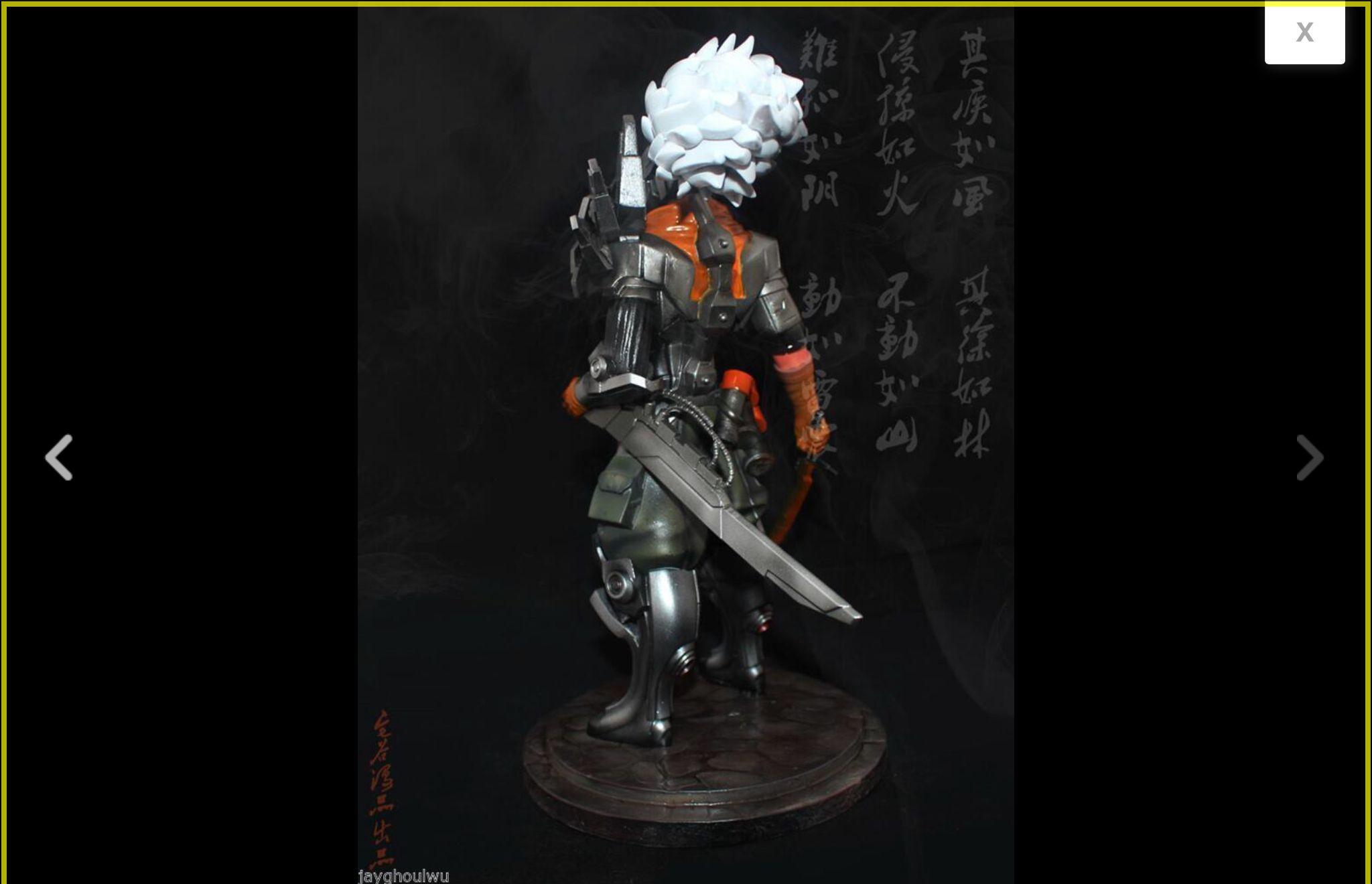 1 6 LOL League of Legends The Project Yasuo The Unforgiven Yasuo Handwork Figure | eBay