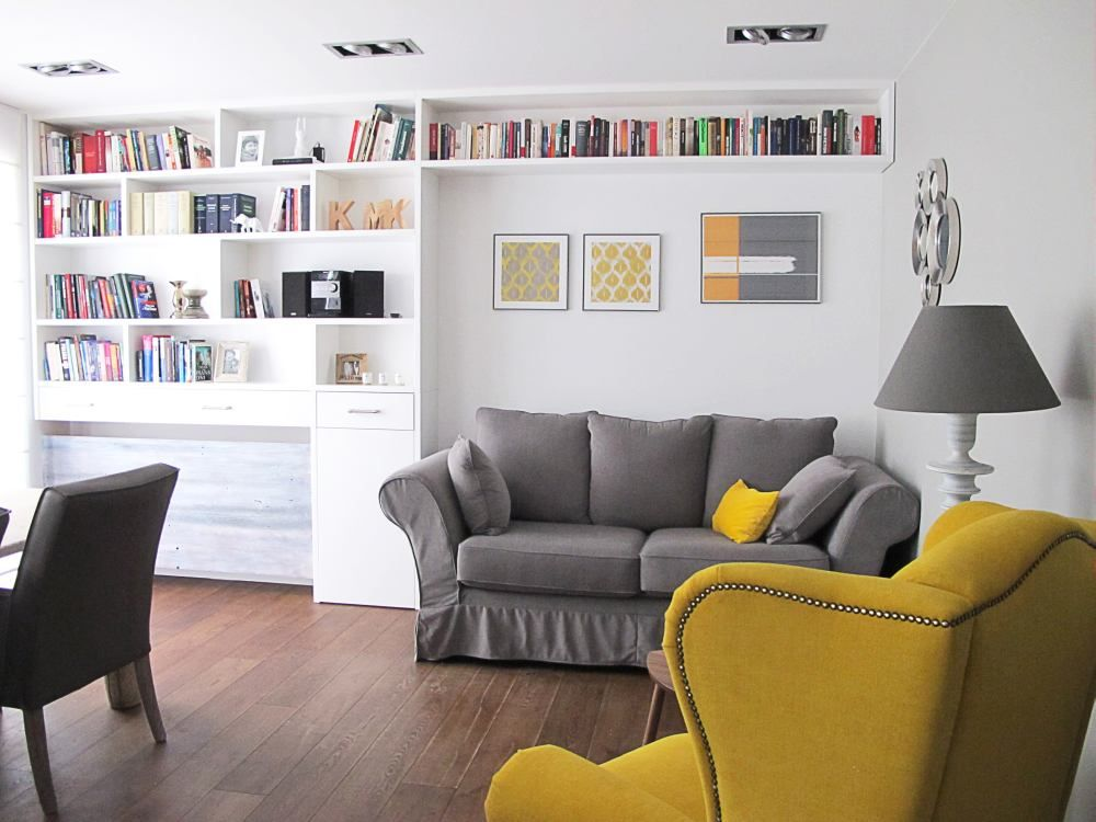 Salon Kuchnia Jadalnia I Przedpokoj Razem To Mozliwe Living Room Chairs Interior Room
