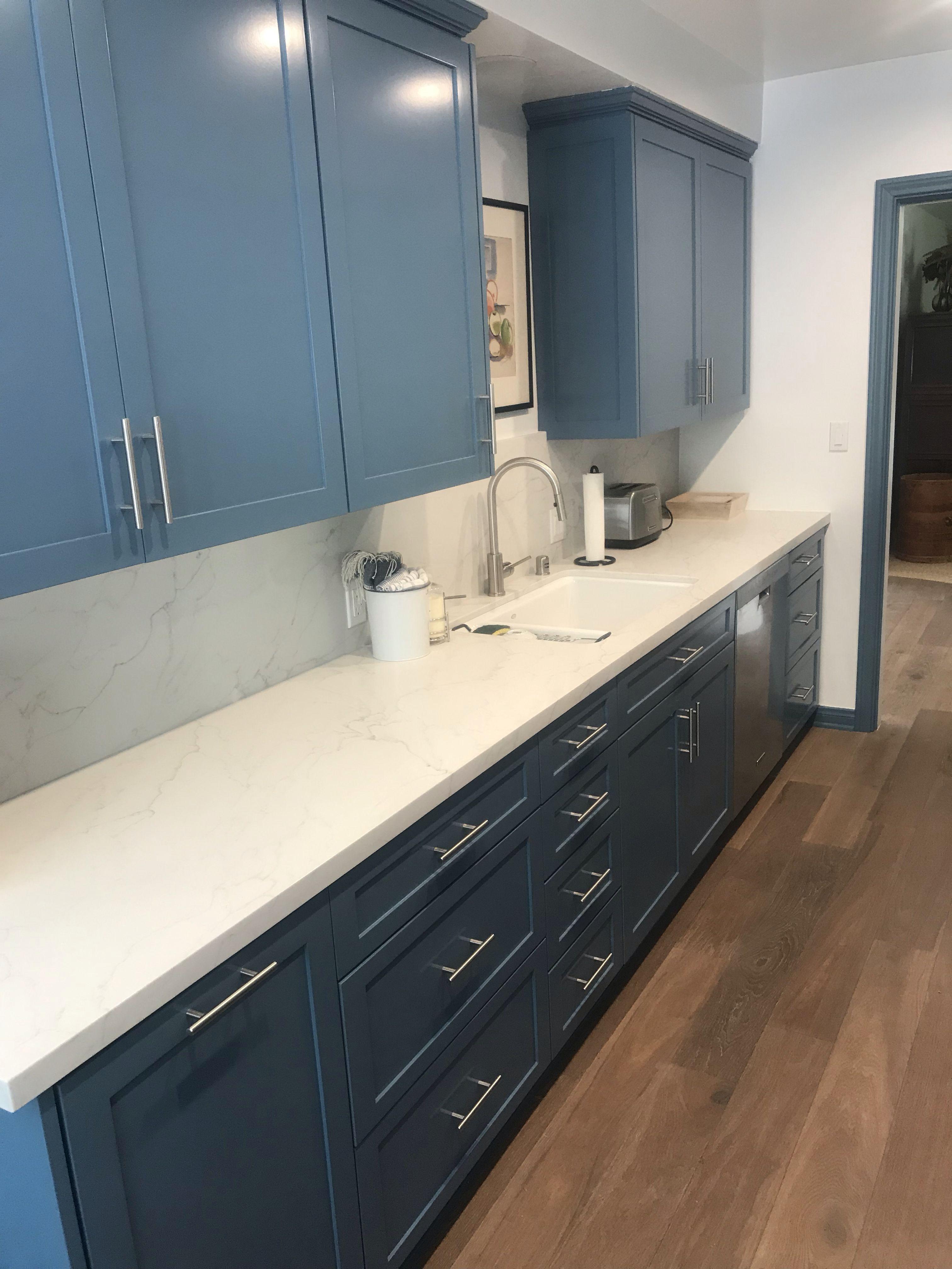 Blue Kitchen Shaker Blue kitchens, Kitchen, Custom