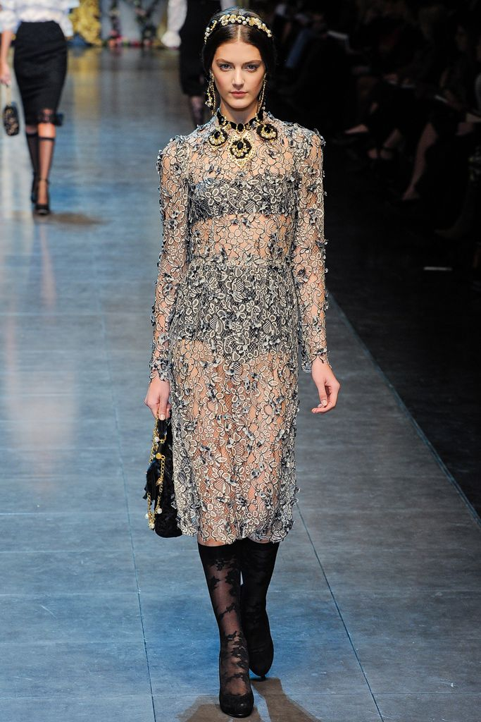 Dolce & Gabbana | Fall 2012 Ready-to-Wear Collection | Style.com